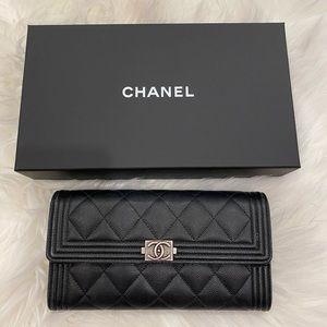 Chanel Le boy wallet